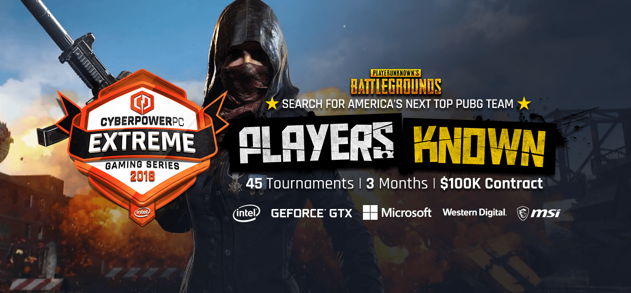Hosted By Cyberpowerpc Game Pubg